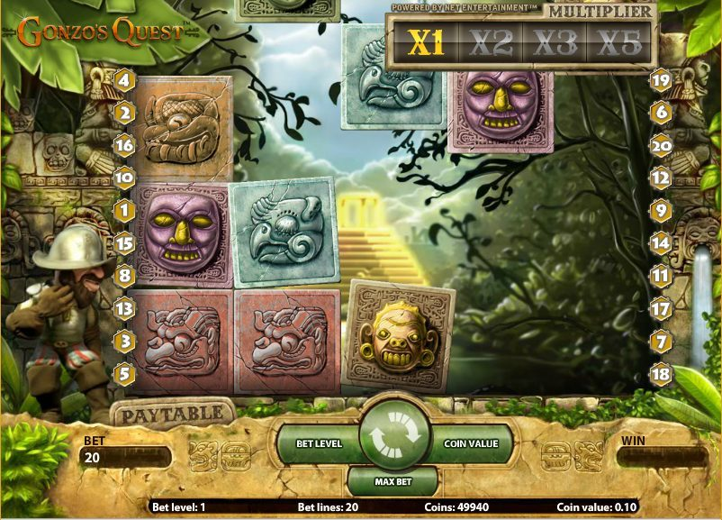 Play Gonzo's Quest Online Pokie And Grab As Much As You Can